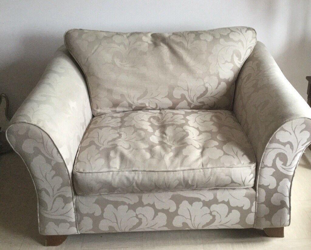 Large Armchair / Cuddler sofa