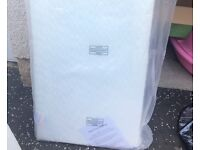 Cot bed mattress - never used