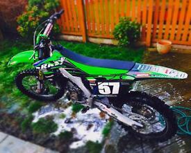 2013 Kxf250 EX Tommy Searle mechanic bike