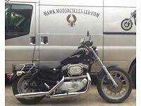 EXCELLENT RARE 1997 HARLEY DAVIDSON XL1200S SPORSTER SPORT SOLO SEAT LOW MILES