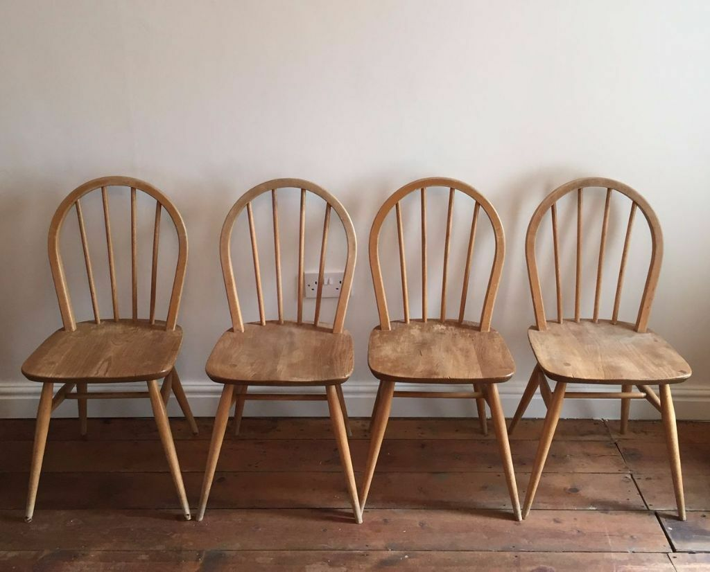 x ercol dining chairs windsor elm vintage s.  x ercol dining chairs windsor elm vintage s  in oxford