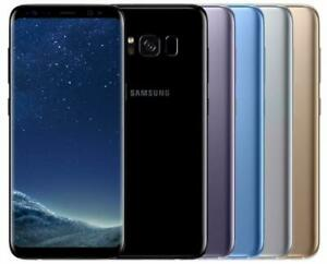 Samsung Galaxy S8 SM-G950FD Dual SIM 64GB Coral Blue, Black, Orchid Grey, Maple Gold - Factory Unlocked