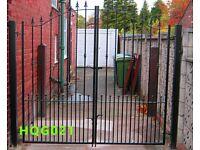 Drive Gate, Metal Iron Gate, Security Gate, Driveway Gate, Security Gate
