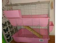Large 2 tier guinea pig cage. Very good used condition.