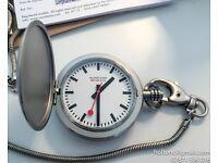 Mondiane Official Swiss Railway Pocket Watch