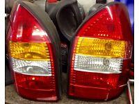 Vauxhall zafira rear lights