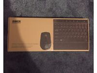 NEW Anker Wireless Keyboard and Mouse
