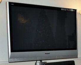 Panasonic TH-42PX60B HD Television & Panasonic Blu Ray Player