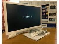 22in Samsung SMART WI-FI LED TV FREEVIEW HD WARRANTY