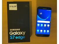 SAMSUNG GALAXY S7 EDGE UNLOCKED WITH CHARGER
