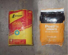 TWO POSTCRETE 20 Kg BAGS