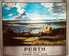 Vintage Perth & Dunkeld prints