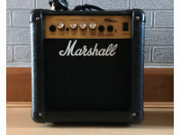 Marshall MG10 Guitar Combo Amplifier - 10 Watts, 2 Channels Like New