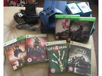 xbox one limited edition blue forza 1tb Bundle incl deadrising fall out and more