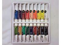 BRAND NEW Unused | Reeves Acrylic Colour Paint Tube Set | | 10ml | 18 tubes | Art & Craft | Leeds