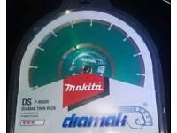 Makita Diamak Diamond Blade Twin Pack