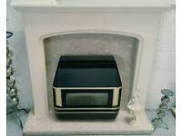 Good quality complete fire place with valor gas fire can deliver 07808222995