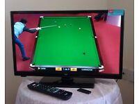 BUSH (LED24265DVDCNTD) Smart TV. 24in. (61cm) Just like New