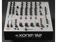 ALLEN & HEATH XONE 92 - PROFESSIONAL CLUB DJ MIXER