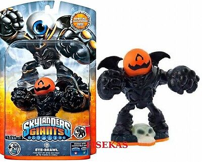 Skylanders Giants Pumpkin Eye Brawl Large Figure Card Code Halloween 2013 NEW](Halloween Skylanders Figures)
