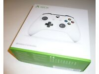 Xbox One White Wireless Controller - Brand New & Sealed - Genuine Microsoft - £35 no offers