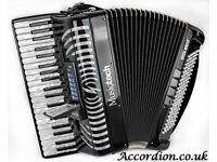 Super Light Reedless Accordion 5.2kg - Musictech Digibeat Built in Sounds & Rhythms