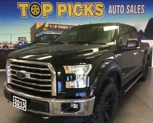 2015 Ford F-150 XTR CREW, LIFT KIT, WHEELS, AND MORE!!