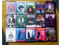 A collection of Stand-Up Comedy DVDs. (15 x DVDs)