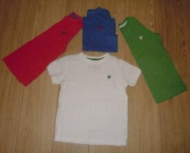 NEXT Boy's Set Of 4 T-Shirts Age 4 Years Ex Cond - VGC