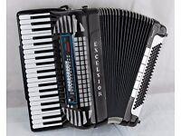 Excelsior 940 MIDI VOX III - Piano Accordion - Musette - Double Cassotto with MIDI & MICS