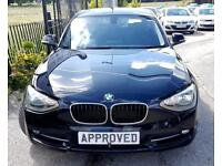 BMW 1 SERIES 1.6 116D EFFICIENTDYNAMICS 5d 114 BHP (black) 2014