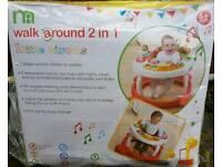 Mother Care walker, walkaround 2 in 1