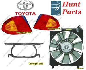 Toyota Avalon 2000 2001 2002 2003 2004 Radiator Support Fan Assembly Cooling Tail lamp light Taillamp Wheel Bearing
