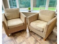 2 x Chairs for Conservatory/Garden Room
