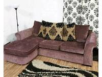New corner sofa(right/left)*free delivery*