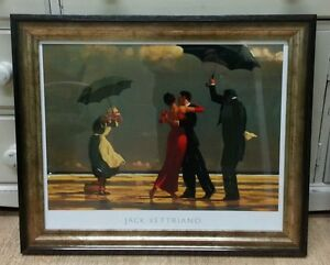 The Singing Butler by Jack Vettriano Large Deluxe Framed Art Print Romantic
