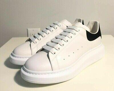 Brand-new Men's Alexander McQueen White Classic Larry Sneakers in US Size 11