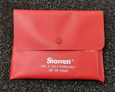Starrett S154sz Adjustable Steel Parallel In Stock