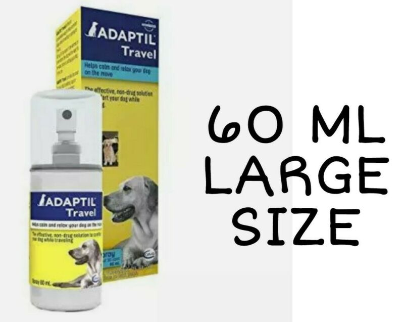 Adaptil Travel Spray for Dogs - XL Size - 60 mL - Relaxing Calming *EX 11/2021 +