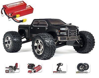 Arrma RC Nero 6s Big Rock 4WD BLX MT 2.4GHz schwarz RTR 1:8 *** inkl. 2x3s ***