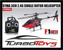 SYMA F1 2.4G 3CH Gyro RC OUTDOOR helicopter. (NEW) Brunswick East Moreland Area Preview