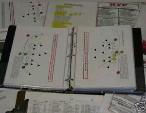Youth Pee Wee Pop Warner Midget football play book coaching playbook 130+ plays