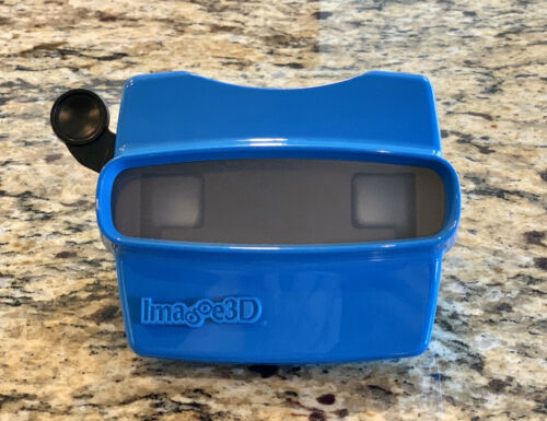 Retro Image 3D Viewer View Master Blue Classic Toy Gift Birthday USA NEW