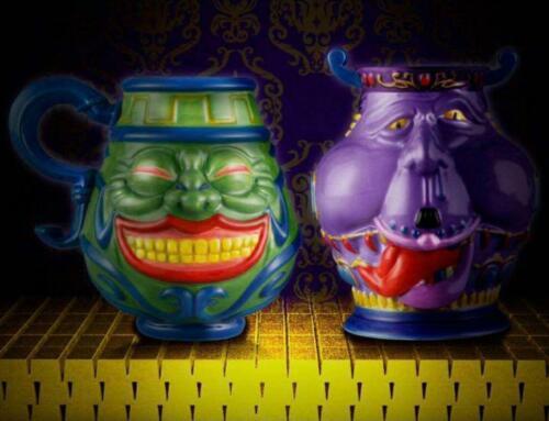 Yu-Gi-Oh! POT OF GREED Mug & POT OF AVARICE Cup Set Premium BANDAI NEW
