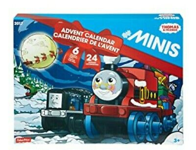 Thomas & Friends 2017 Advent Calendar. 6 exclusive holiday trains. 24 engines!