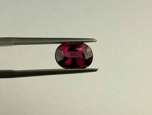 Rare-Colored Rhodolite Garnet Gem - 7 X 9 X 5.5 MM - 2.95 Cts - Oval