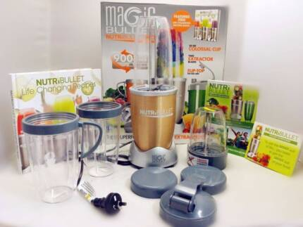 Nutribullet 900 pro, brand new in box, 15 pieces, unwanted gift Woodville North Charles Sturt Area Preview