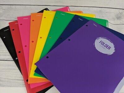 Mead 2 Pocket Folder 12 X 9 38 Assorted Colors