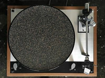 NEW CoRkErY Cork N Rubber Turntable Platter Mat - Audiophile Slipmat Anti-Static