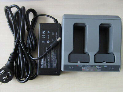New Dual Slot 2 Slot Battery Charger For Trimble Gps Total Station
